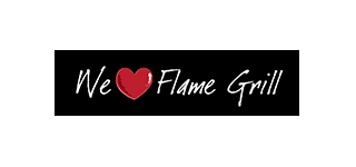 We Love Flame Grill logo